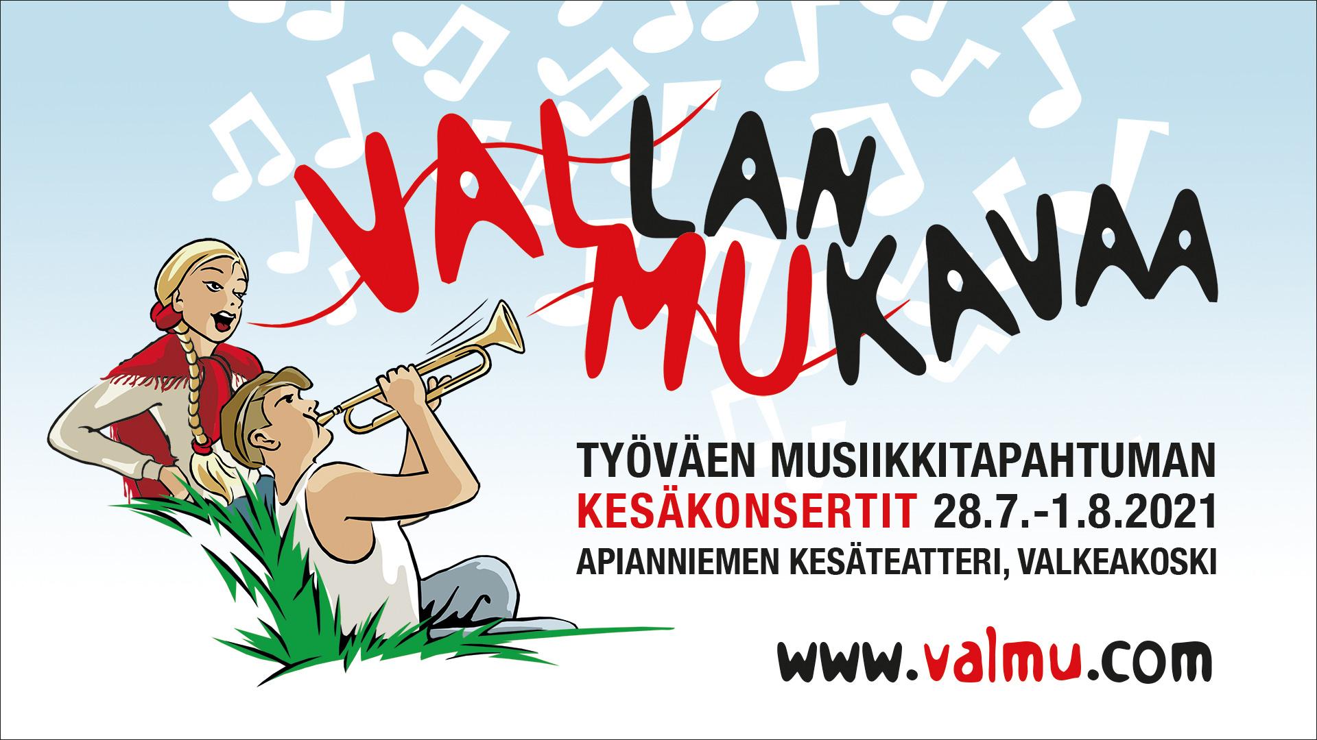 Työväen musiikkitapahtuman kesäkonsertit 2021 korvaavat perinteisen  festivaalin | AKT